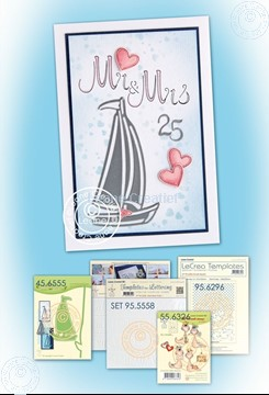 Picture of Sailboat Mariage card