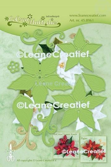 Image sur Multi die flower 004 Poinsettia