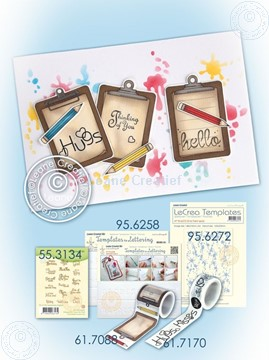 Image de Washi tape clipboard