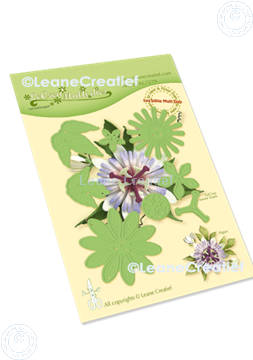 Picture of Lea'bilitie® Multi die 21 Passion flower cut and embossing die