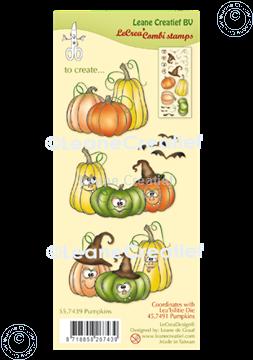 Picture of LeCreaDesign® combi clear stamp Pumpkins