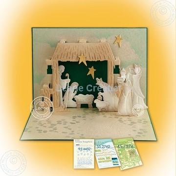 Picture of nativity scene Pop-up